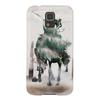 Rodeo - double exposure  - cowboy - rodeo cowboy galaxy s5 covers