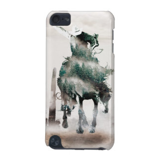 Rodeo - double exposure  - cowboy - rodeo cowboy iPod touch 5G case