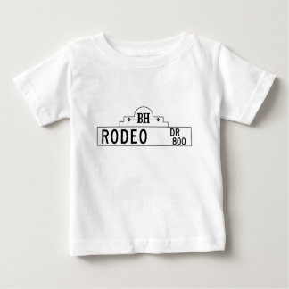 Rodeo Drive, Los Angeles, CA Street Sign Baby T-Shirt
