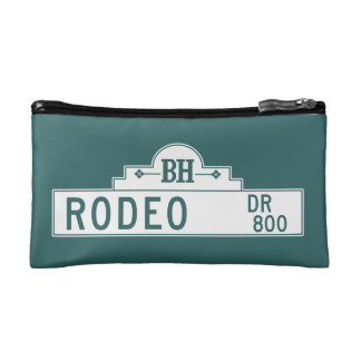 Rodeo Drive, Los Angeles, CA Street Sign Cosmetic Bag