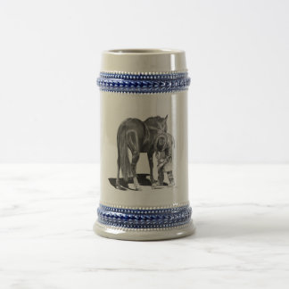 Rodeo Farrier Beer Stein