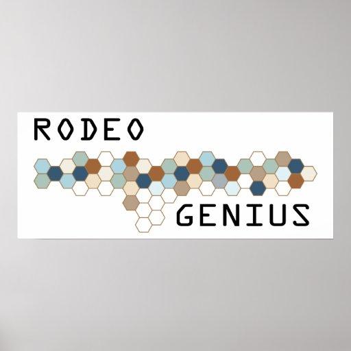 Rodeo Genius Poster