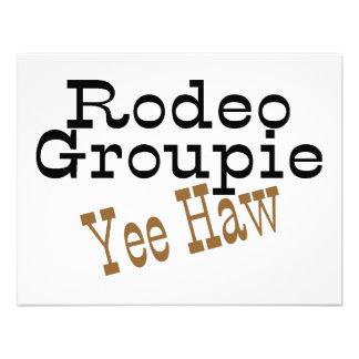 Rodeo Groupie Yee Haw Invite