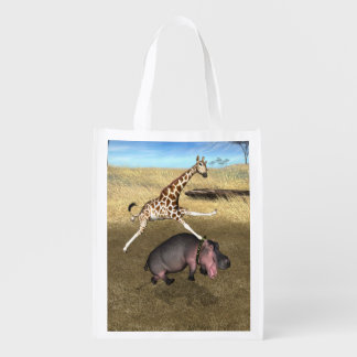 Rodeo Hippo Market Totes