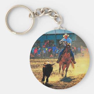 Rodeo Keychain