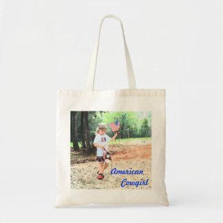 RODEO KIDS #1 AMERICAN COWGIRL TOTE BAG