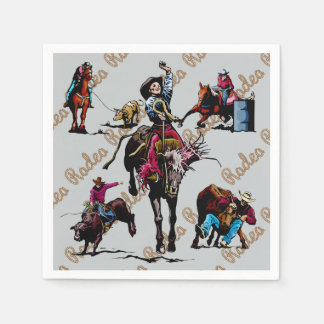 Rodeo Party Napkins Paper Napkin