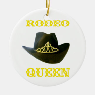 Rodeo Queen Customizable Ornament
