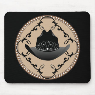 Rodeo Queen Western Mousepad