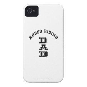 RODEO RIDING DAD SPORTS DESIGNS iPhone 4 COVER