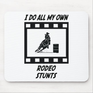 Rodeo Stunts Mouse Mat