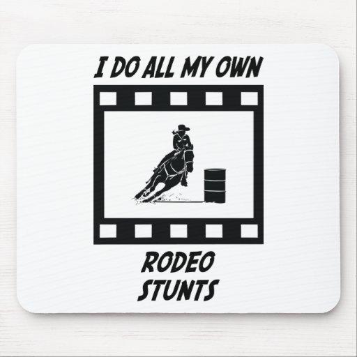 Rodeo Stunts Mouse Mat