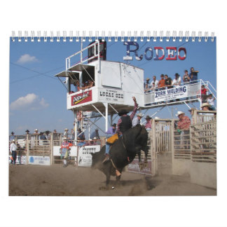 Rodeo Wall Calendars