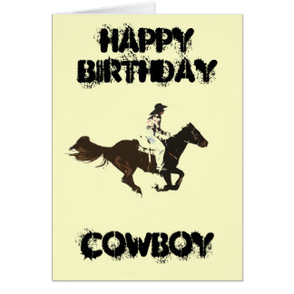 rodeos greeting card