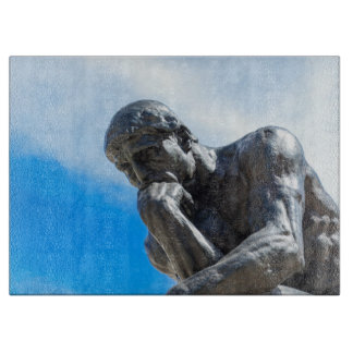 Rodin Thinker Statue Boards