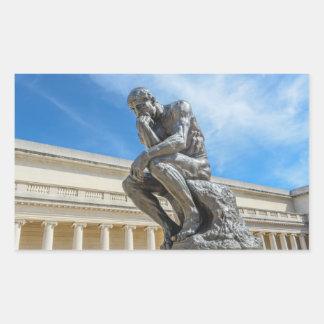Rodin Thinker Statue Sticker