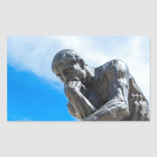Rodin Thinker Statue Sticker