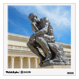 Rodin Thinker Statue Wall Decal