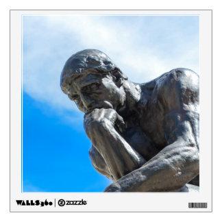 Rodin Thinker Statue Wall Sticker