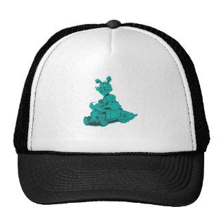 rodrabbit-aqua trucker hat