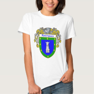 Rodrigues Coat of Arms/Family Crest Tees