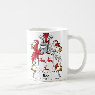 Roe Family Crest Coffee Mug
