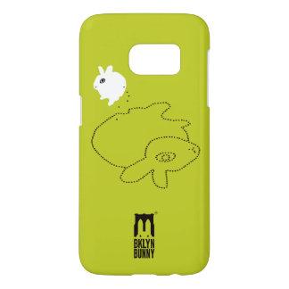 Roebling Self-Pootrait by Brooklyn Bunny Samsung Galaxy S7 Case