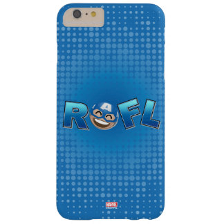 ROFL Captain America Emoji Barely There iPhone 6 Plus Case