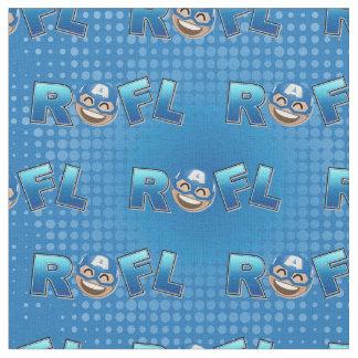 ROFL Captain America Emoji Fabric