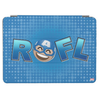 ROFL Captain America Emoji iPad Air Cover