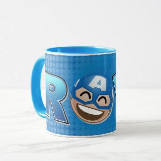 ROFL Captain America Emoji Mug