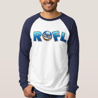 ROFL Captain America Emoji T-Shirt