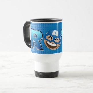 ROFL Captain America Emoji Travel Mug