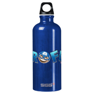 ROFL Captain America Emoji Water Bottle