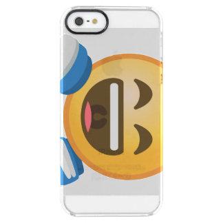 ROFL Emoji Clear iPhone SE/5/5s Case