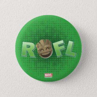 ROFL Groot Emoji 2 Inch Round Button