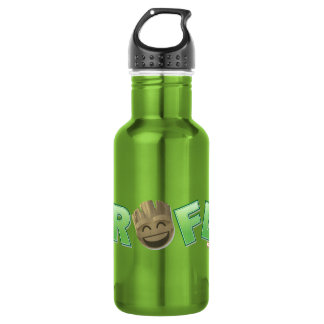 ROFL Groot Emoji 532 Ml Water Bottle