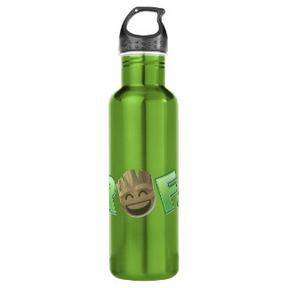ROFL Groot Emoji 710 Ml Water Bottle