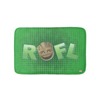ROFL Groot Emoji Bath Mat