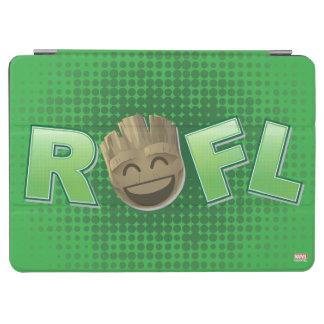 ROFL Groot Emoji iPad Air Cover