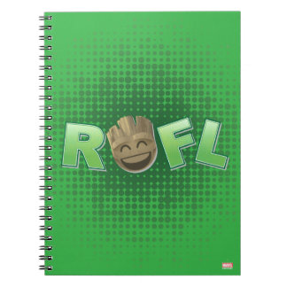 ROFL Groot Emoji Notebook