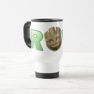 ROFL Groot Emoji Travel Mug