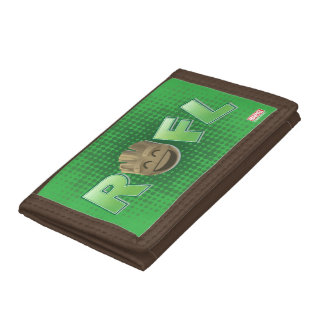 ROFL Groot Emoji Tri-fold Wallet