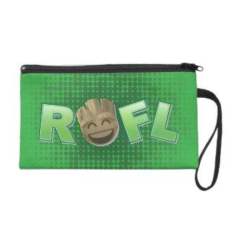 ROFL Groot Emoji Wristlet