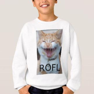 ROFL Laughing Kitty Cat Sweatshirt