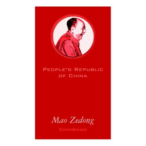 ROFL Mao Business Card Template