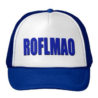 ROFLMAO blue Trucker Hat