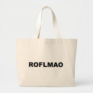 ROFLMAO LARGE TOTE BAG