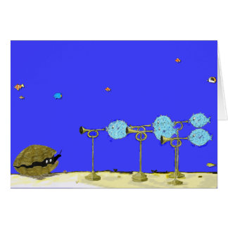 Roger and the Blowfish...Birthday Card. Card