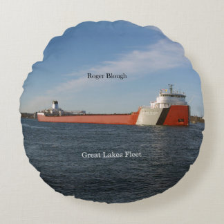 Roger Blough round pillow